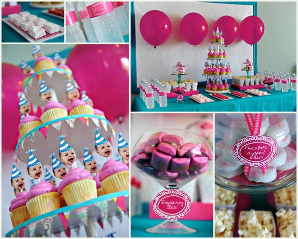 Идеи для первого дня рождения девочки