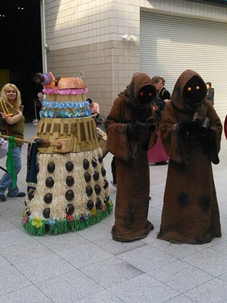 Dalek and Jawas