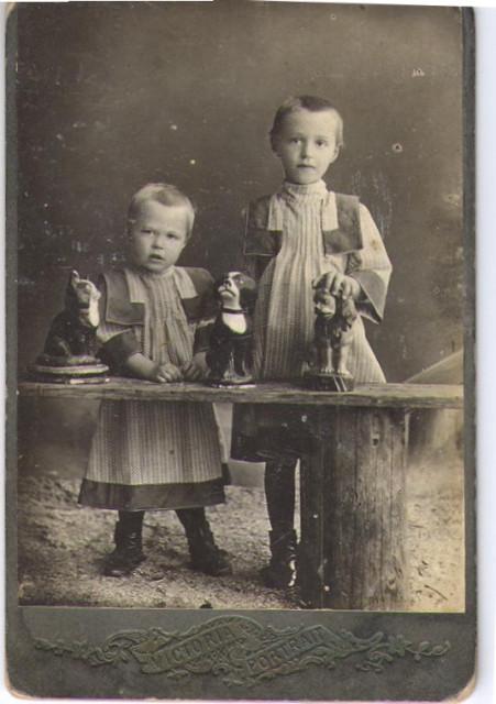 Прабабушка Нина и сестра Тая