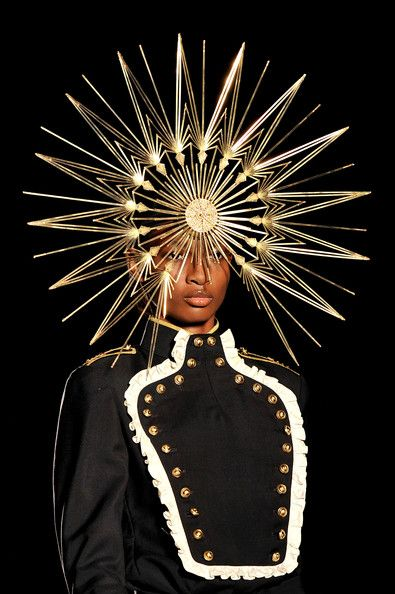 LFW SS2013 Philip Treacy Catwalk