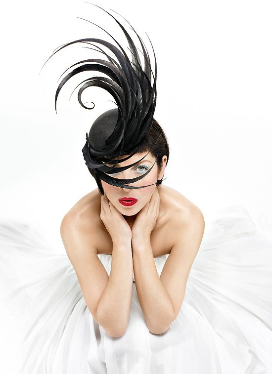 Philip Treacy  Isabella Bow by Miguel Riveriego
