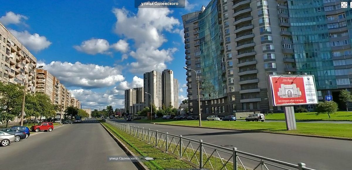 улица Одоевского, дом 24, 26