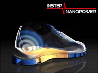 С помощью обуви теперь можно заряжать мобильные телефоны