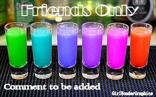 FriendsOnly(rainbowdrinks)