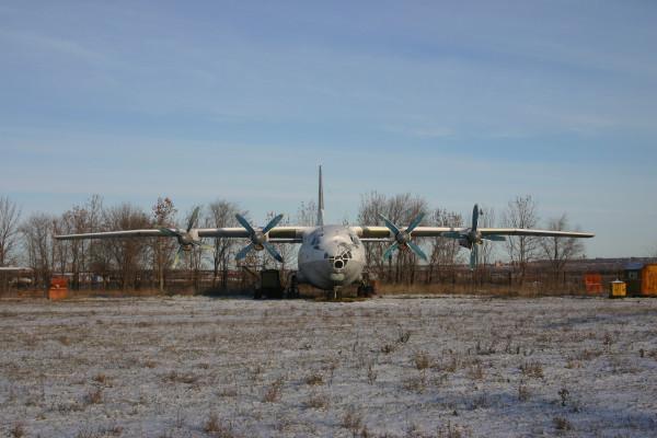 Ан-12 СССР-11339 Учебный аэродром СГАУ