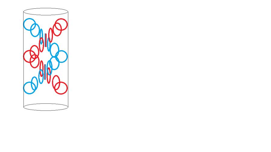 двойной эфирный вихрь в проводнике с постоянным током