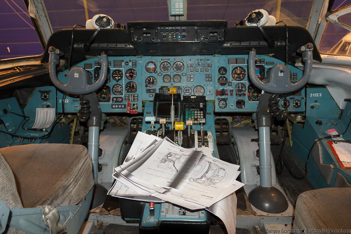 Кокпит Ан-74