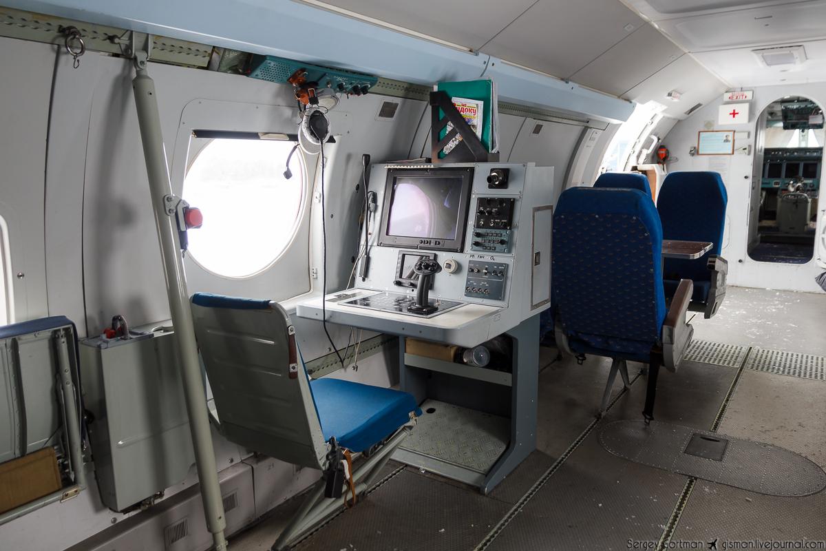 Место оператора Бе-200
