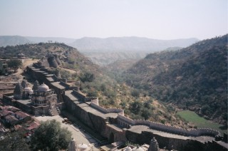 Walls at Kumbalgarh