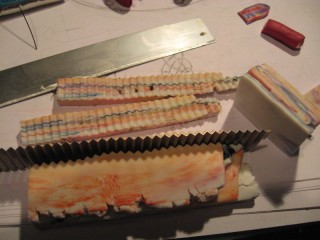 Колбаска из полимерной глины  S320x240