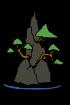 70px-Bonsai-auf-Felsen-Form.svg