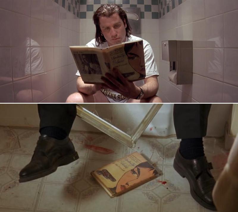 Чтение на унитазе облегчает дефекацию