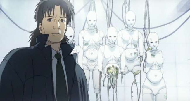 призрак в доспехах 2 невинность мультфильм 2004