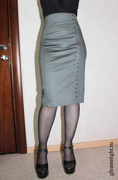 пошить юбку карандаш: