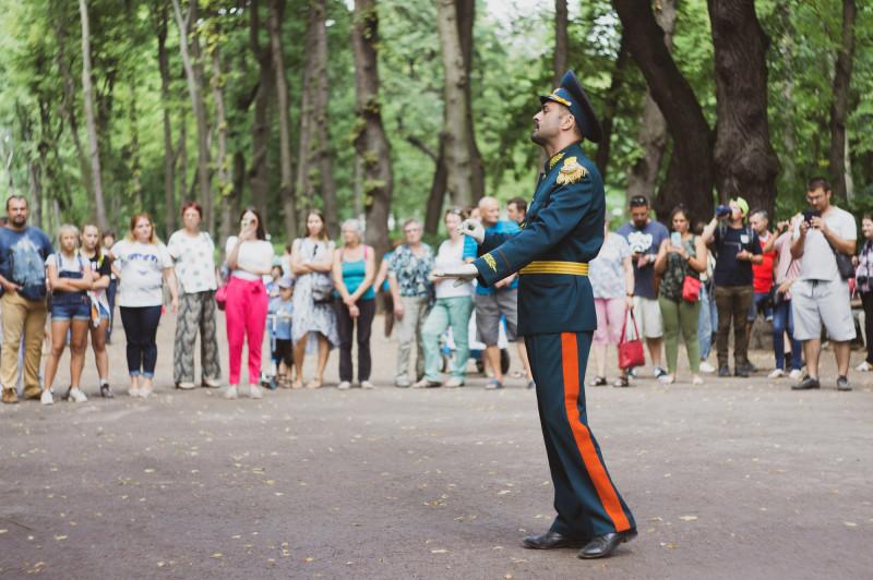 Дирижёр военного оркестра в Летнем саду