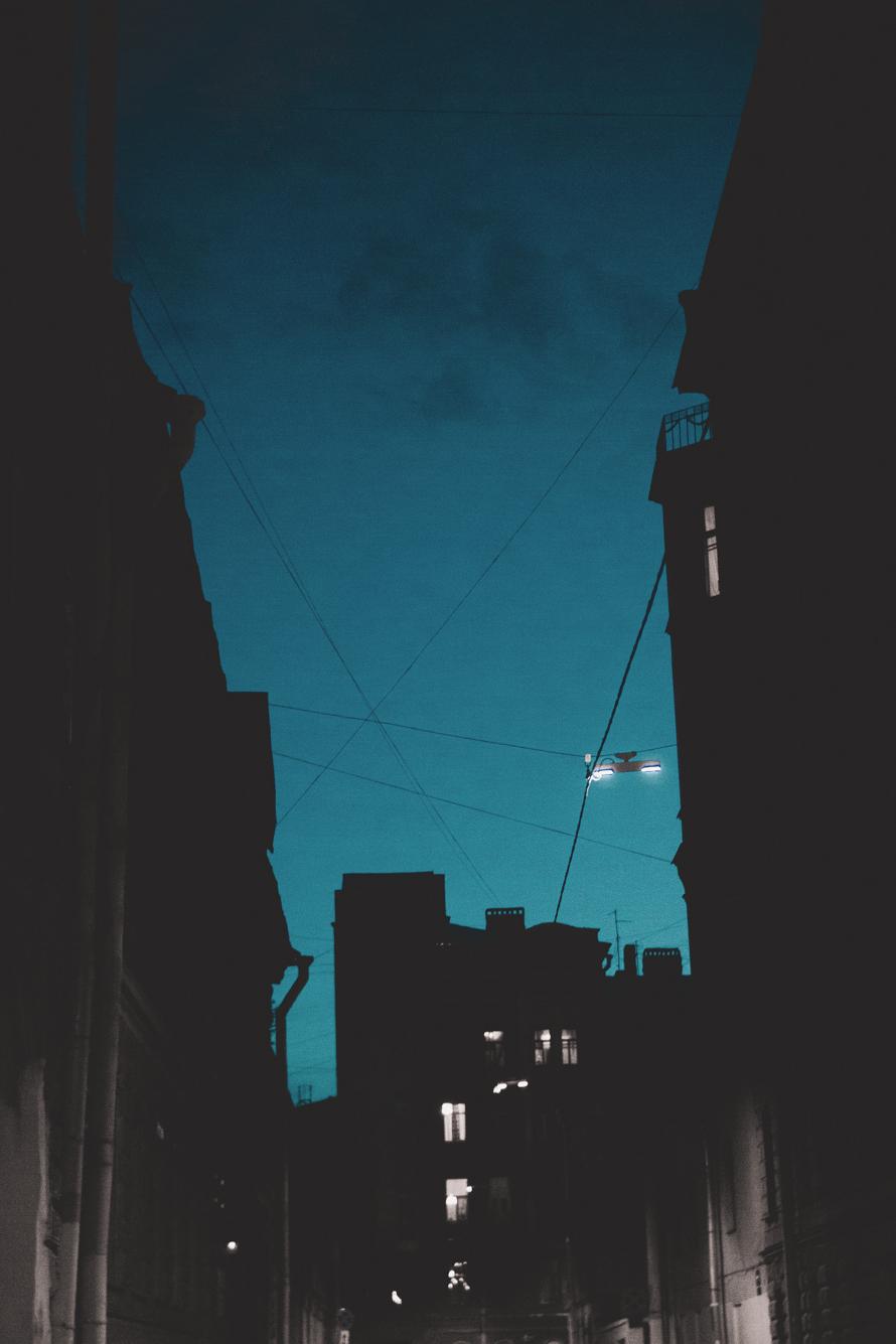 Поздний вечер в Сапёрном переулке
