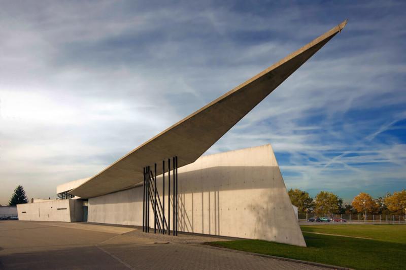 Пожарная станция Vitra, архитектор Заха Хадид