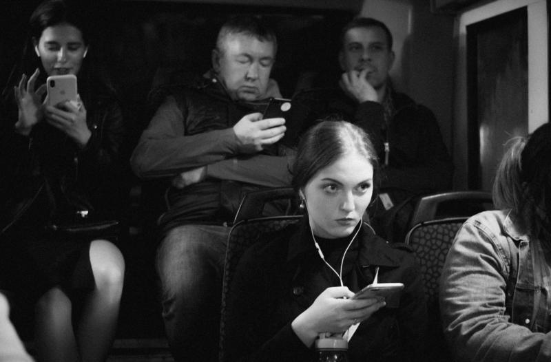 Автобус до площади Восстания. Октябрь 2019