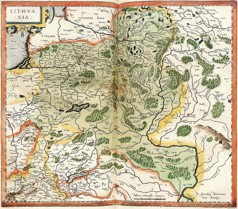 Коронация Миндовга 1253 год.