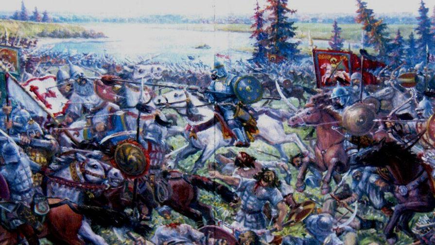 Битва на реке Шелонь 1471 год.
