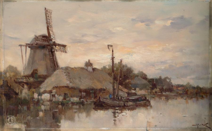Виллем Куккук - голландский художник 19 века.