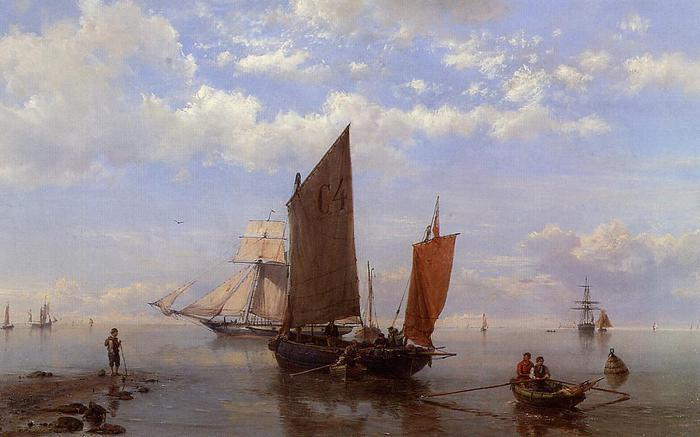 Херманус Куккук Старший - голландский художник 19 века. Часть - 1.