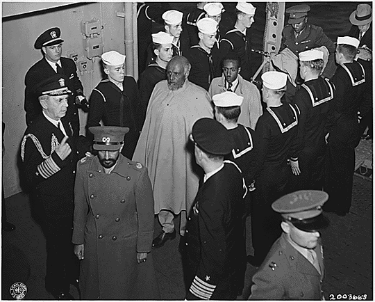 Visit_of_Emperor_Haile_Selassie_of_Ethiopia_on_the_United_States_Navy_ship_USS_Qunicy_in_Great_Bitter_Lake_Egypt_Feb_13_1945