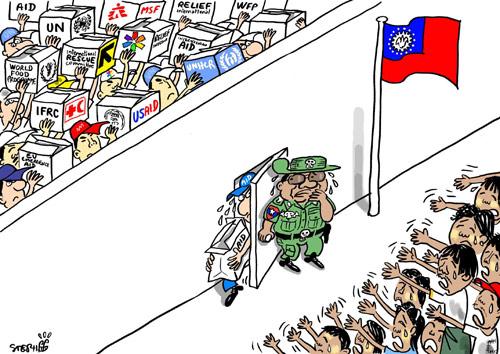 Burmese-Junta-allows-the-In