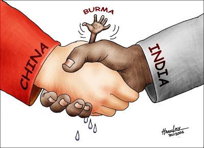 cartoon Burma India-China shanland org
