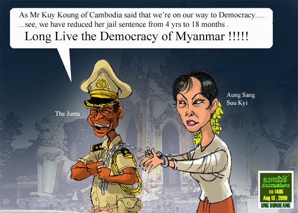 sacrava no 1495 - Myanmar's Democracy