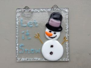Snowman Tile/Suncatcher