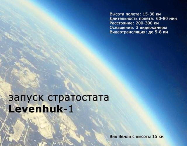 Запуск зонда в стратосферу