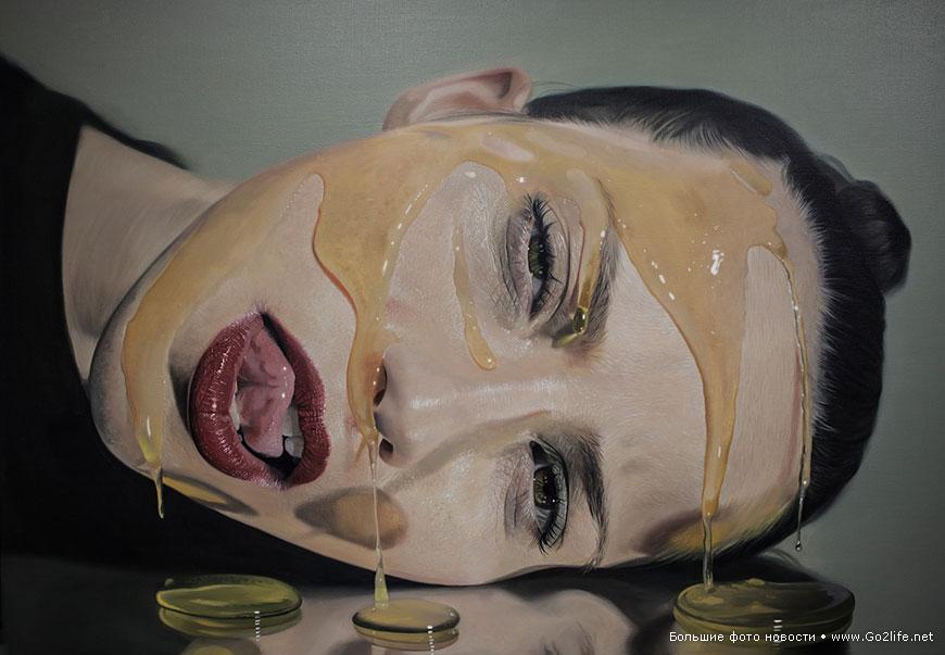 реалистичные портреты девушек