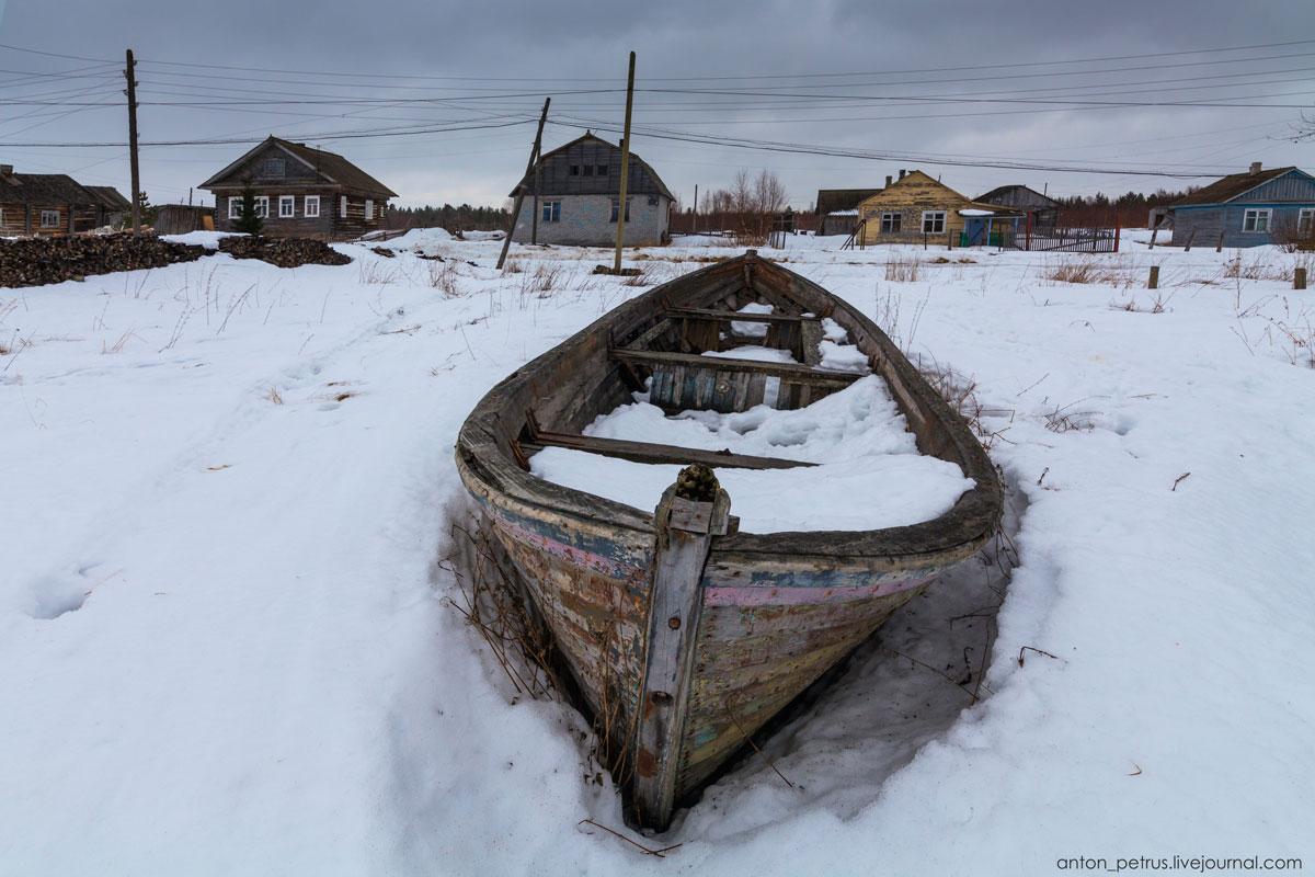 Поньгома - деревня на краю жизни