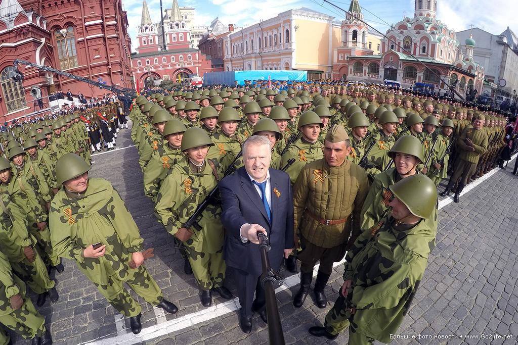 Селфи Жириновского