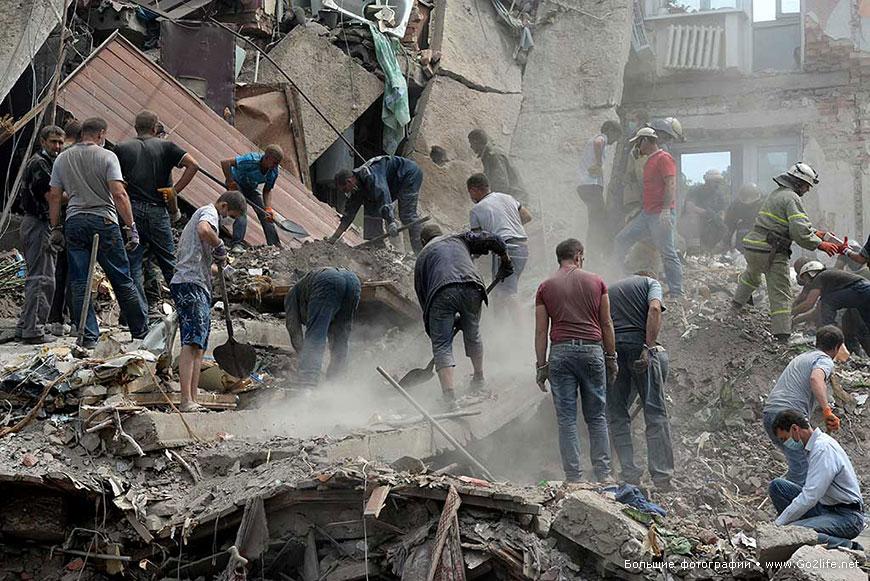 Ukraine Snezhnoe bombing 1