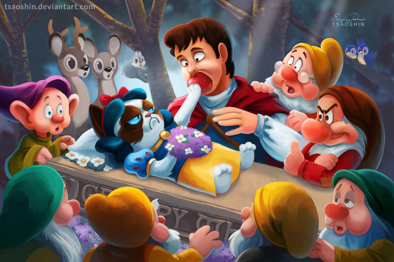 Grumpy Disney