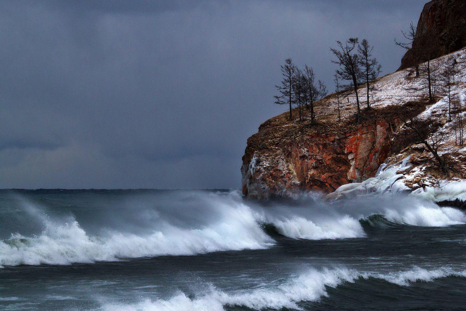 Идеальный шторм на озере Байкал