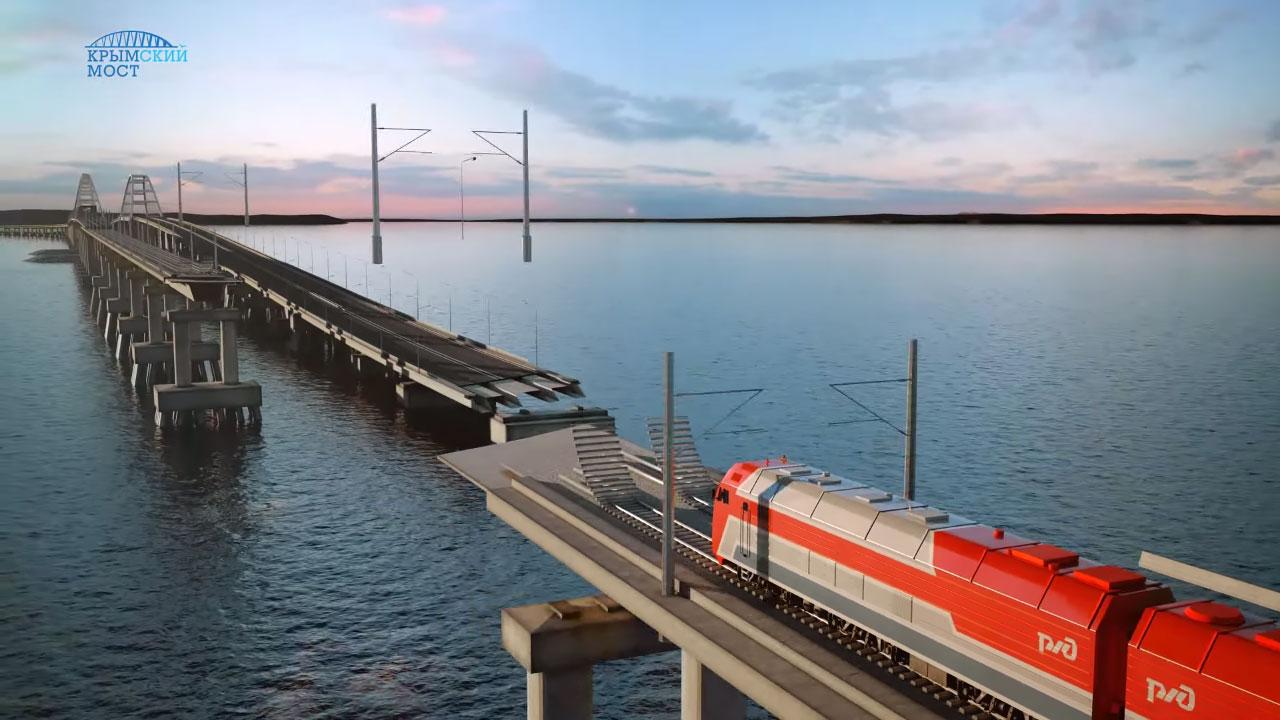Эксперт о строительстве моста в Крым красивая работа