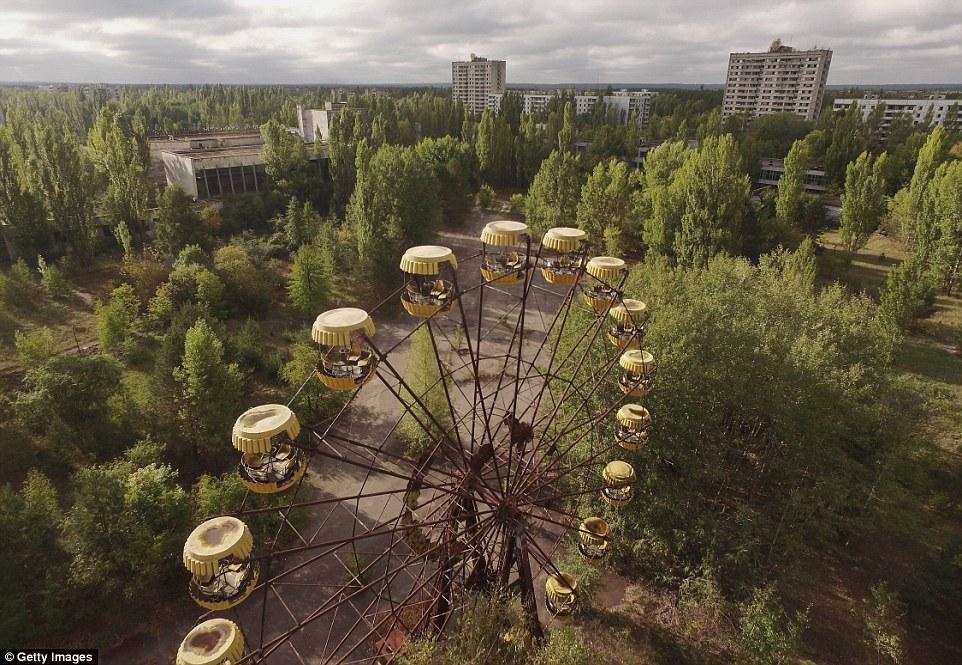 Город Припять. Чернобыльская зона отчуждения