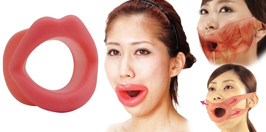 Face Slimmer: силиконовые губы