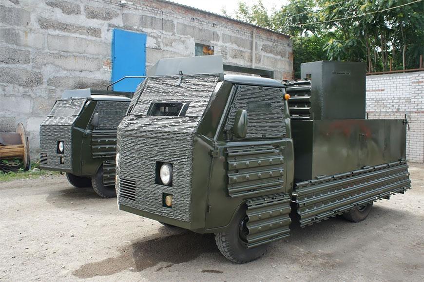 Инновационные украинские боевые машины
