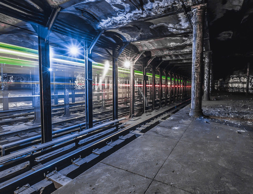 Таинственные исследователи тоннелей метро в Нью-Йорке