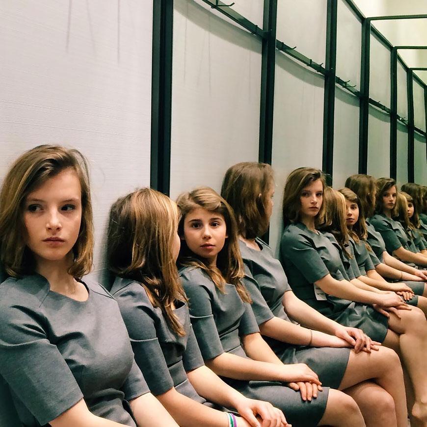 Тест на внимательность: сколько же девочек на фото?