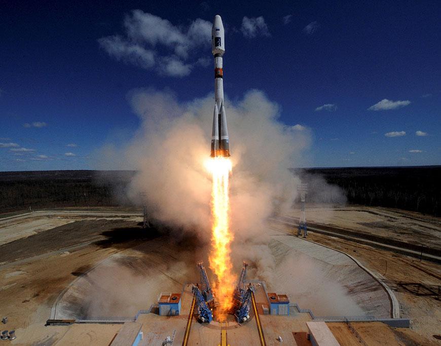 С космодрома Восточный произведен первый пуск