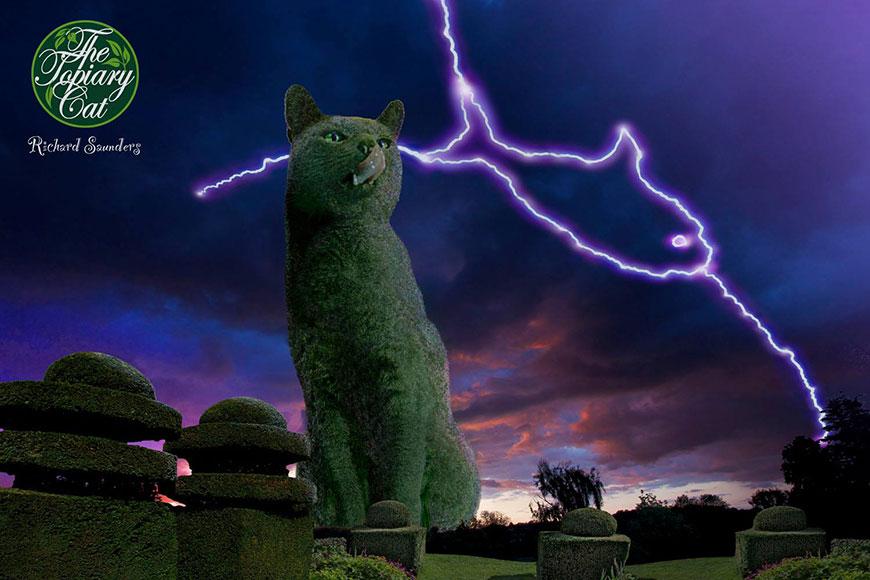 Topiary Cat: топиарий в виде кошки