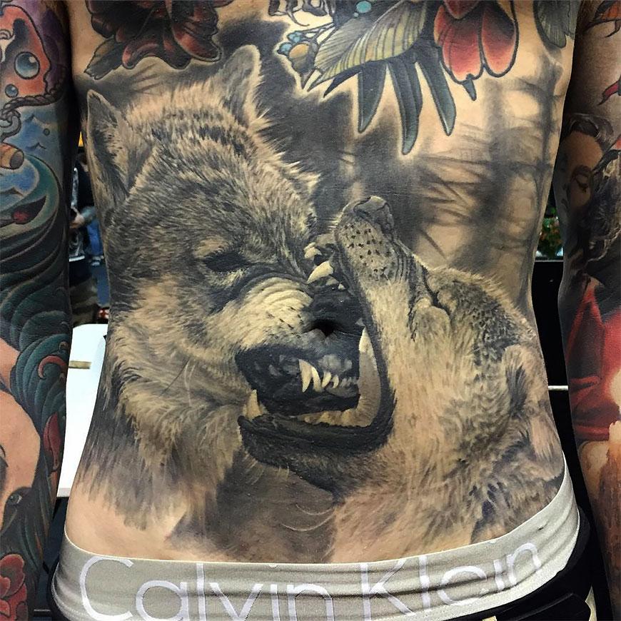 Гиперреалистичные татуировки Стива Бутчера