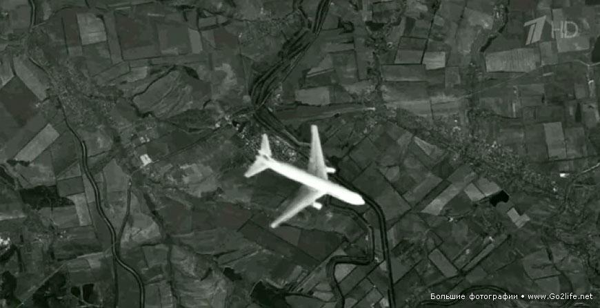 Boeing 777 был сбит ракетой истребителя
