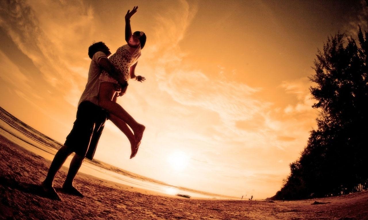 Любовь - это наслаждение от соединения