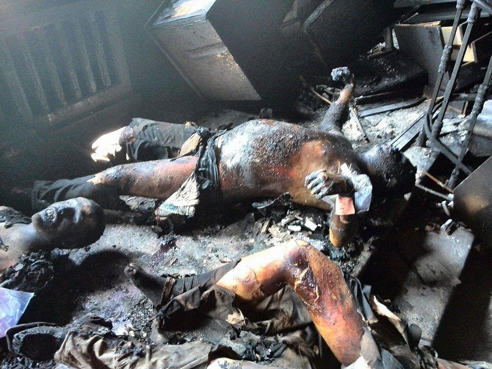 в Одессе погибших больше 100 человек!